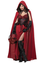 Red Riding Hood Dark Costume
