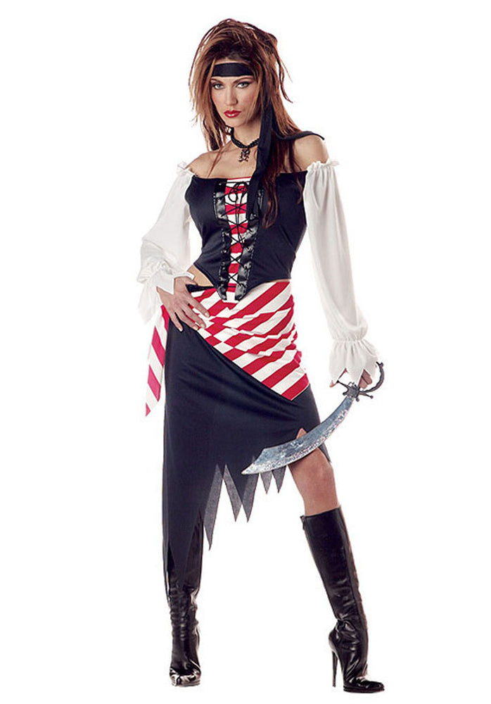 Ruby Pirate Beauty Costume