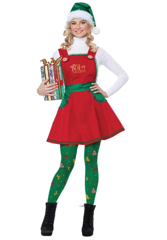 Elf in Charge Costume