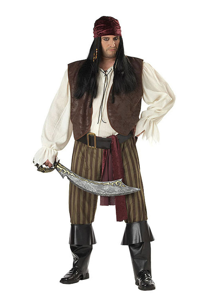 Pirate Rogue Plus Size Costume