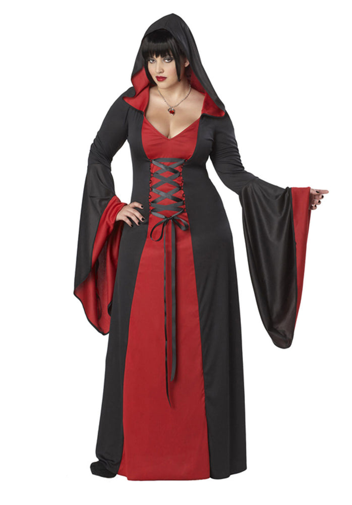 Deluxe Hooded Robe Plus Size