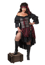 Pirate Wench Plus Size Costume