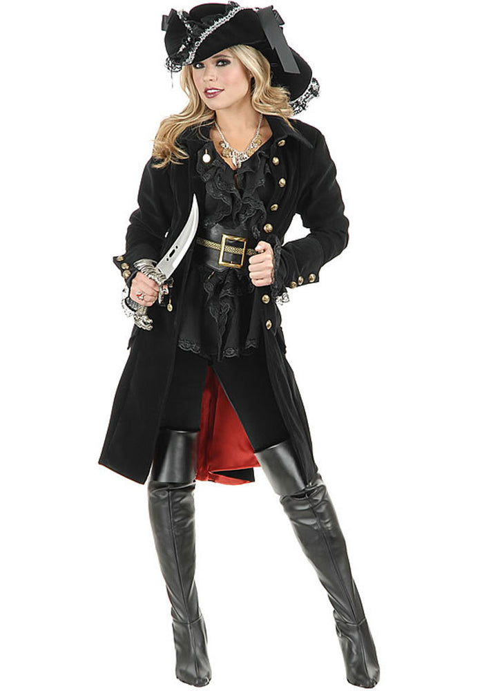 Pirate Vixen Black Jacket