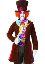 Electric Mad Hatter Costume W/O Trousers