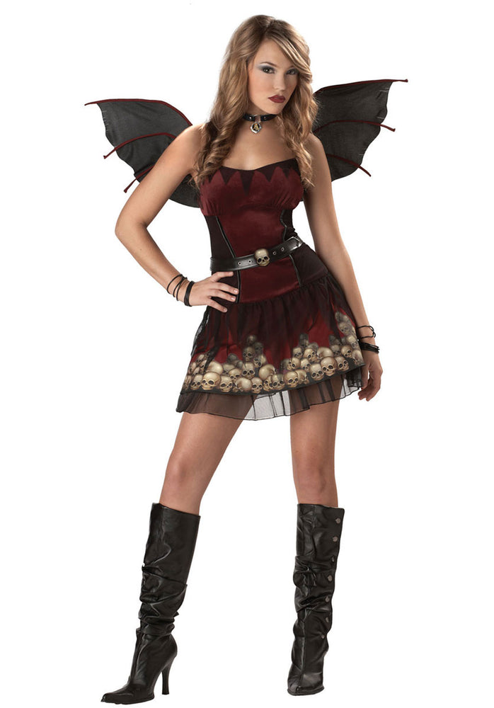 A Candle In The Dark Gothic Fairy Costume - Teen