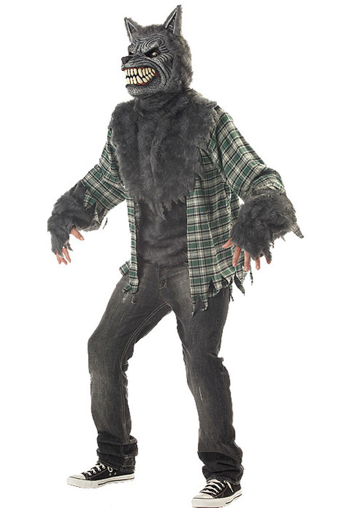 Werewolf, Full moon madness costume with Ani Motion Mask