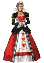 Queen of Hearts Costume - Elite Quality
