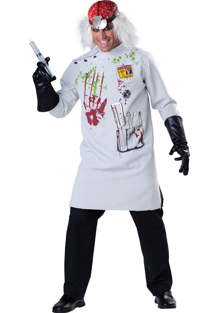 Mad Scientist Costume, Horror Fancy Dress