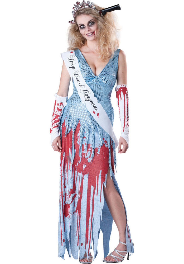 Drop Dead Gorgeous Costume, Zombie Ladies Fancy Dress