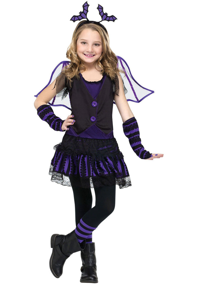 Kids Betty Belfry Costume, Bat Fancy Dress for Halloween