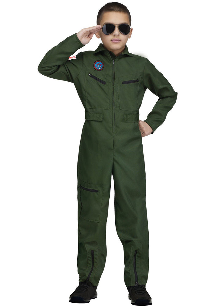 Kids Top Gun Aviator Costume