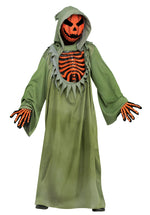 Pumpkin Reaper with Glow Chest Costume, Child