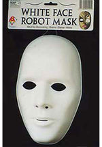 plain White Mask Male