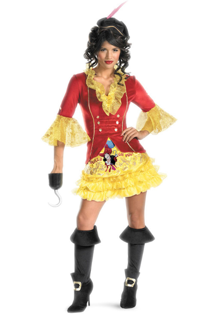 Fantasy Captain Hook Sexy Costume