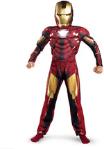 Iron Man 2 Childs Glow Muscle Chest Costume