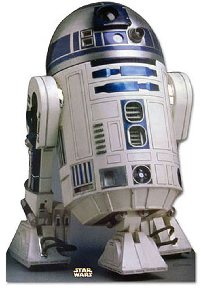 Star Wars R2D2 Talking Stand Up Cardboard Cutout.