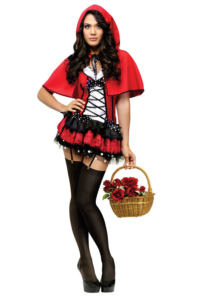 Red Hot Hood Costume, Red Riding Hood Fancy Dress