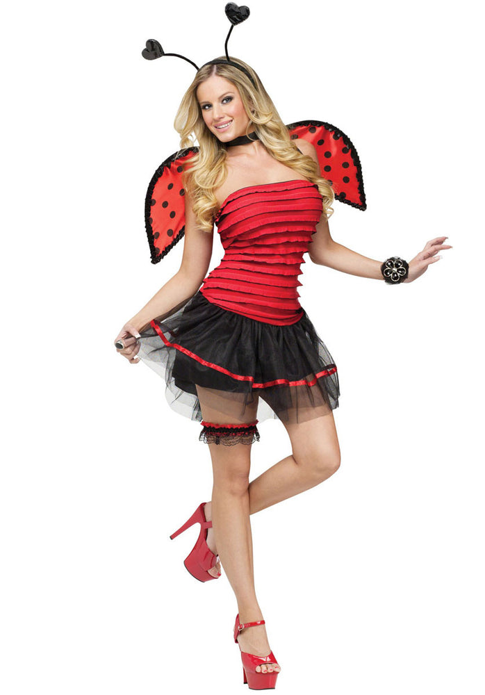 Ladybug Costume, Sexy Fancy Dress
