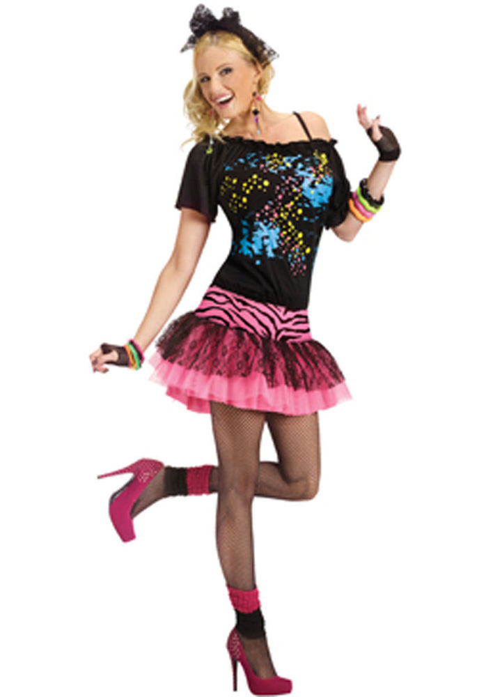 80's Pop Party Costume - inspired by Madonna