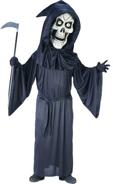 Bobble Head Reaper Costume, Halloween Fancy Dress