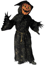 Bobblehead Pumpkin Costume, Halloween Scary Costumes