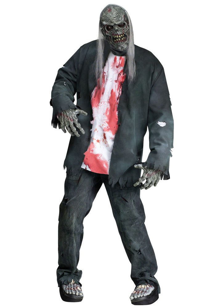 Rotted Zombie Costume, Zombie Fancy Dress
