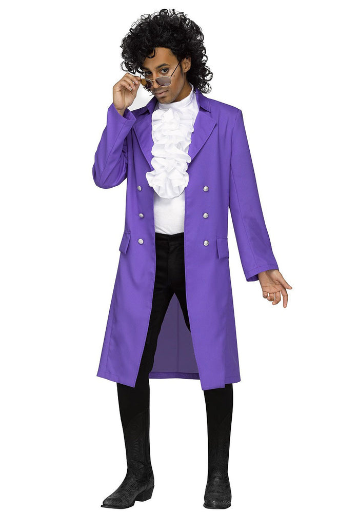 Purple Pain Prince Costume