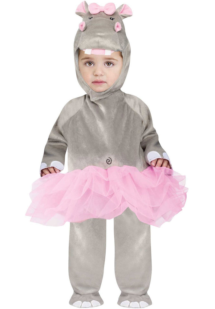 Baby Hippo Ballerina Costume, Infant Size Fancy Dress
