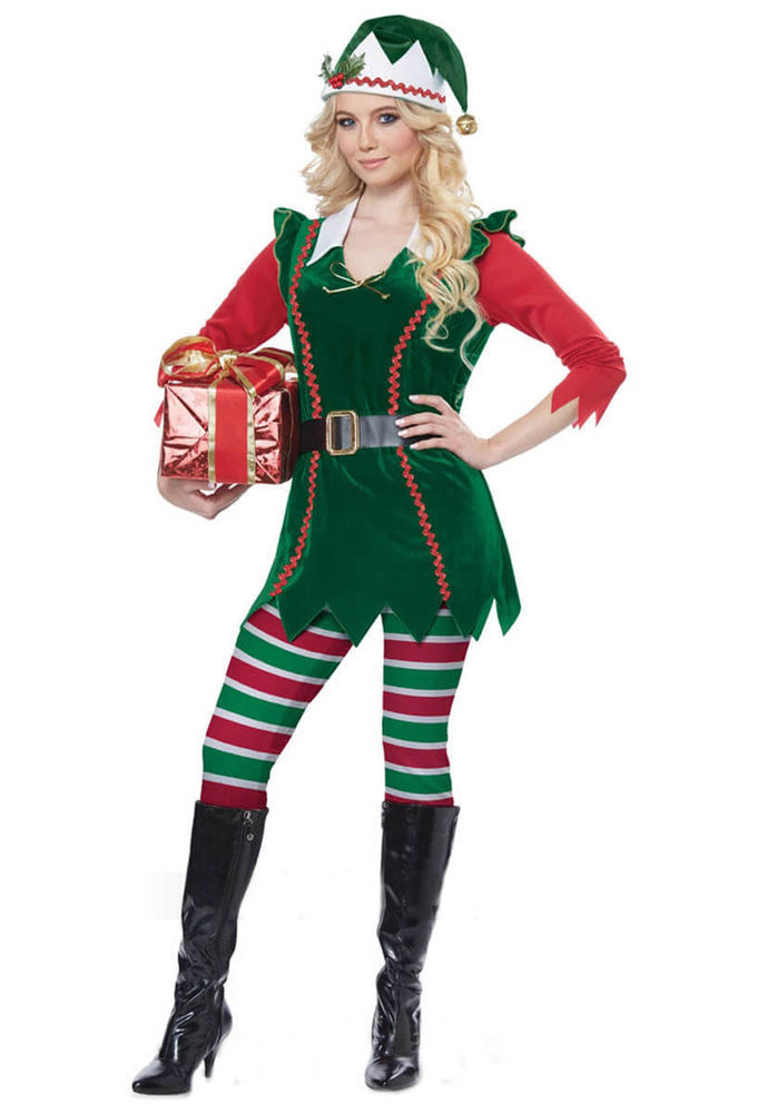 Festive Elf Adult Costume