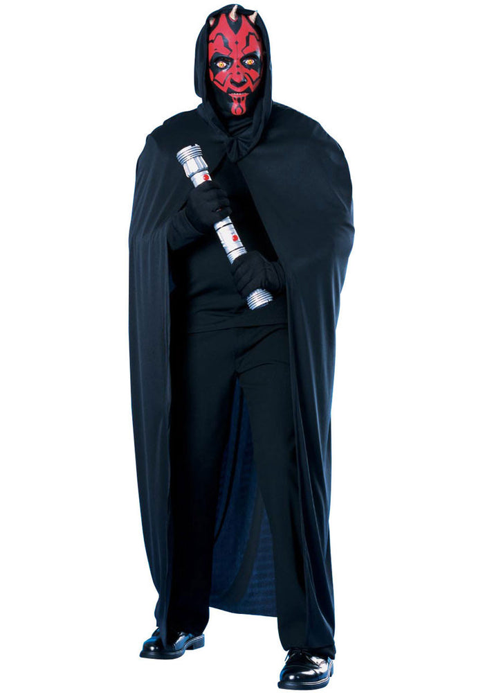 Darth Maul Cape & Mask Costume Set
