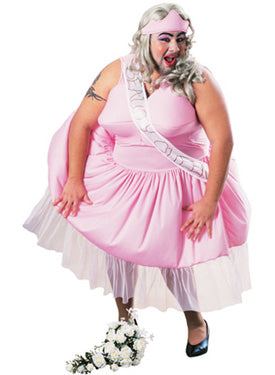 Fat Beauty Queen Costume, Fun Fancy Dress