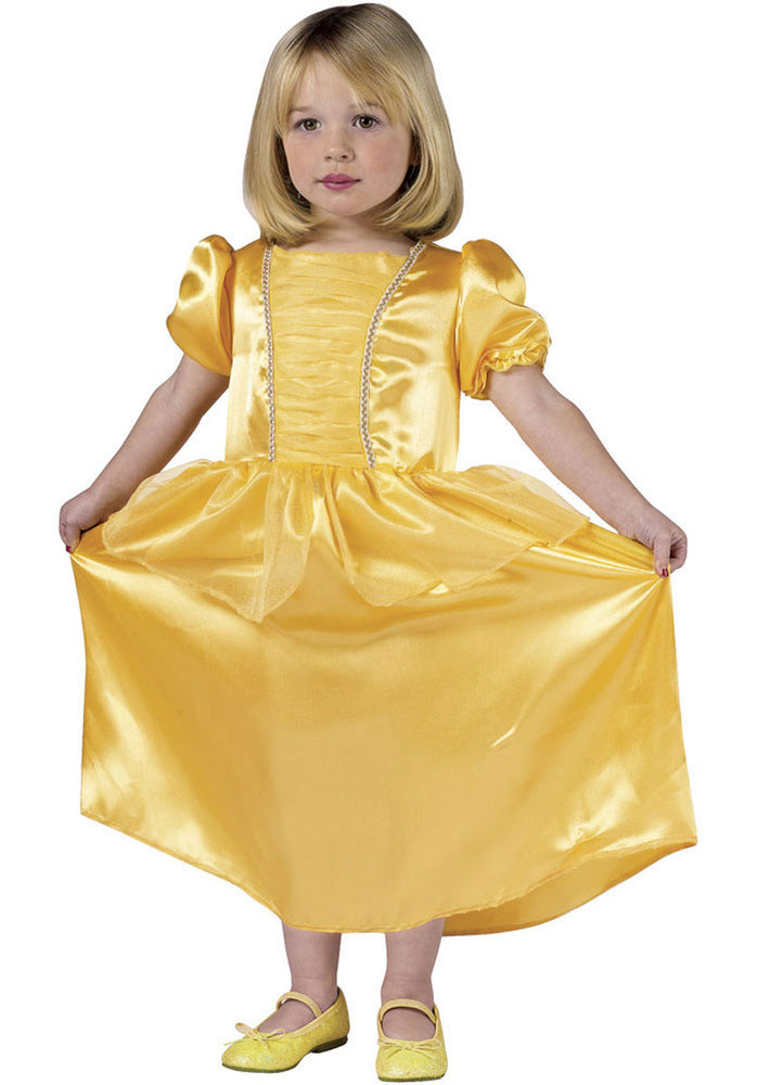 Girls Belle Yellow Princess Toddler Costume