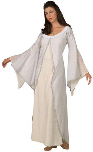 Arwen Deluxe White Costume, Lord Of The Rings™ Fancy Dress