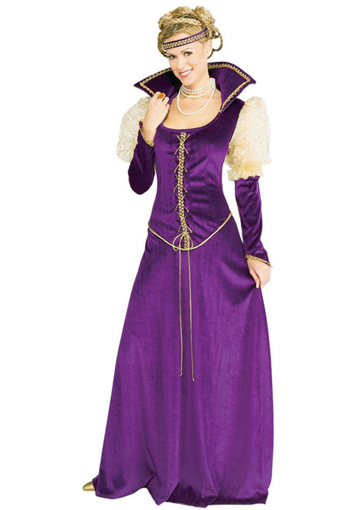 Renaissance Lady Costume - Purple