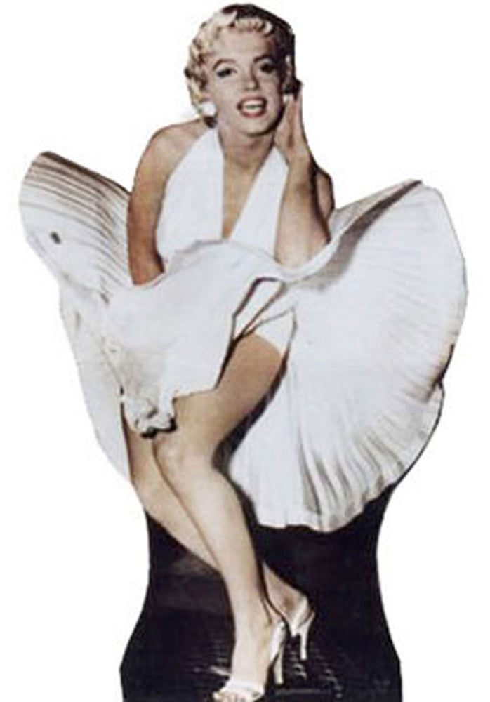 Marylin Monroe Stand Up Cardboard Cutout.