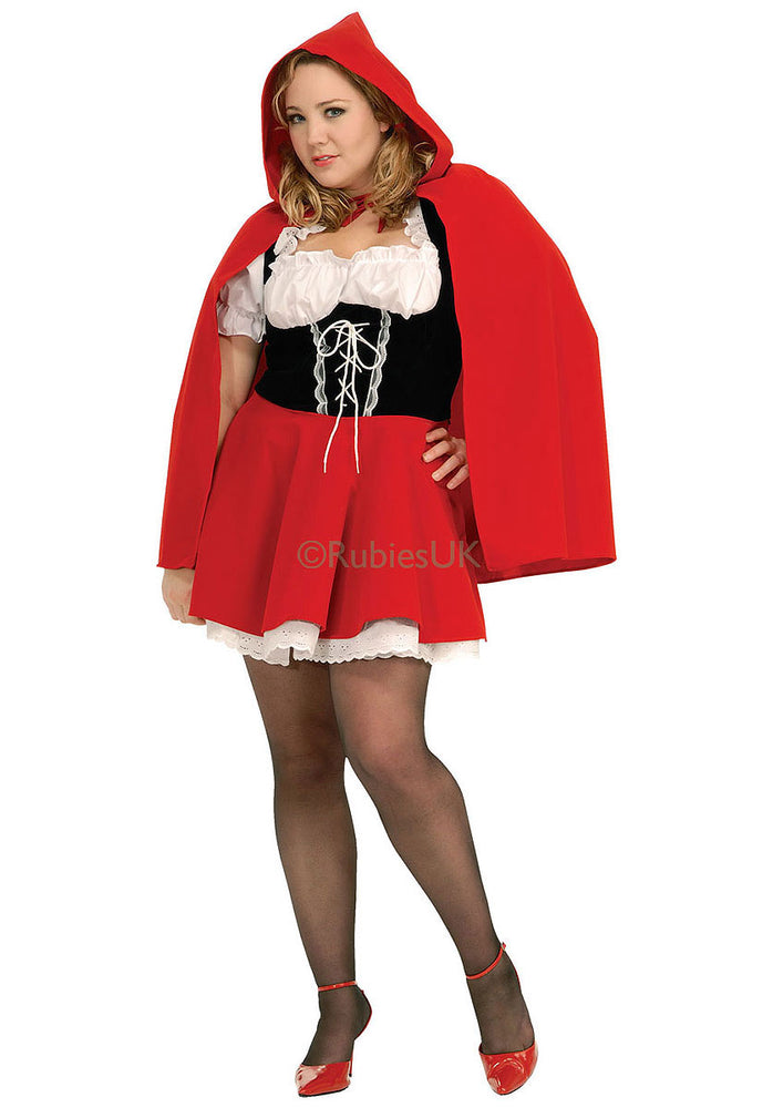 Red Riding Hood Costume, Plus Size Fancy Dress