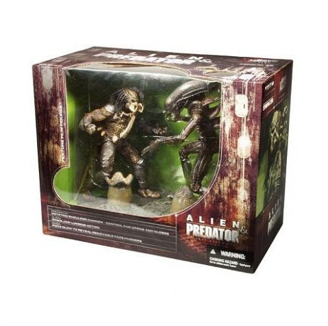 Alien Vs Preditor Deluxe Box Set Figures