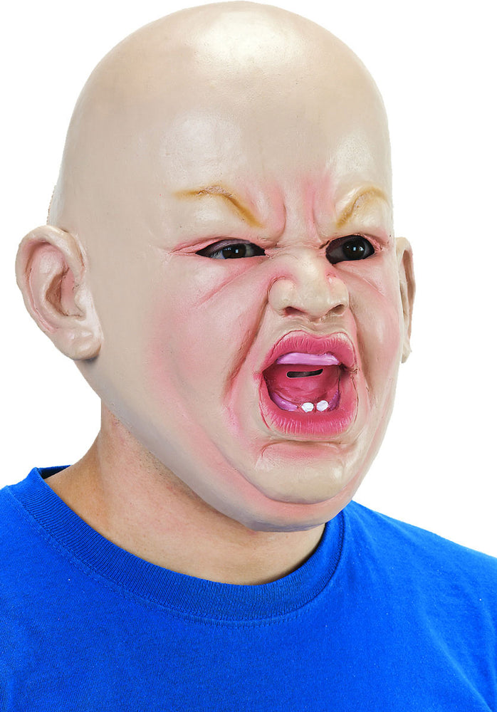 Angry Baby Mask, Realistic Full Head Mask
