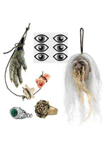 Jack Sparrow Cannibal Set, Pirates of the Caribbean™, Fancy Dress Accessories