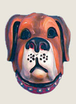 Dog Large PVC Mask