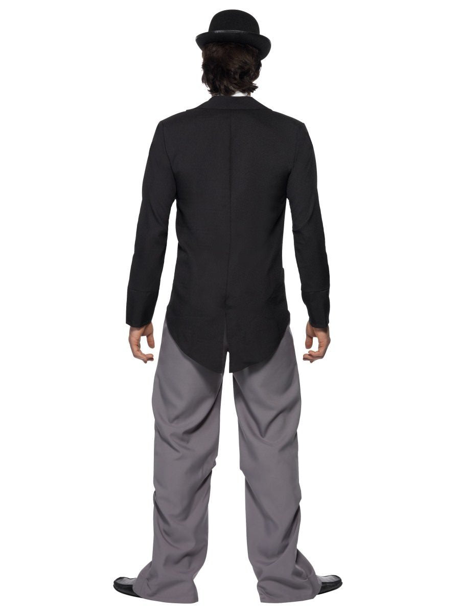 Charlie Chaplin Costume 1920/'s Mens Silent Movie Film Star Fancy Dress Outfit