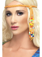 Smiffys 1960s Hippie Beaded Headband - 34003