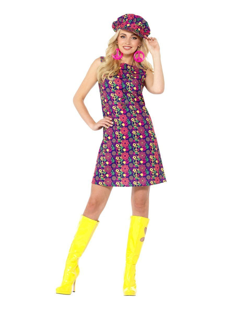 1960s Psychedelic CND Costume