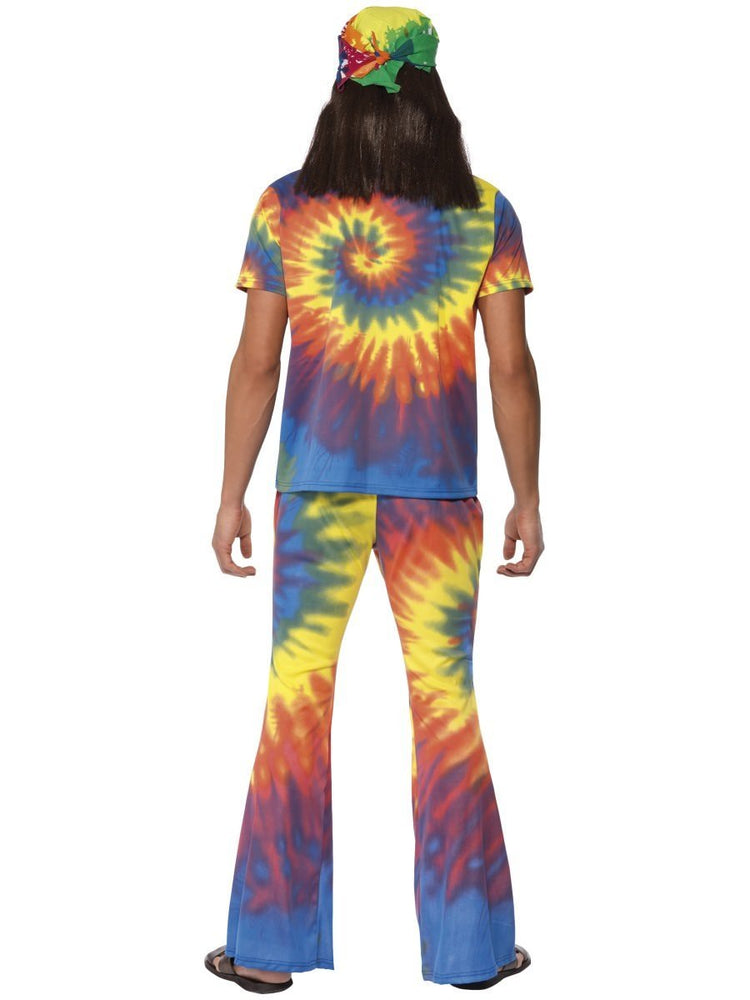 1960s Tie Dye Top and Flared Trousers