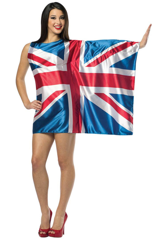Sexy UK Flag Dress, British Fancy Dress Costume