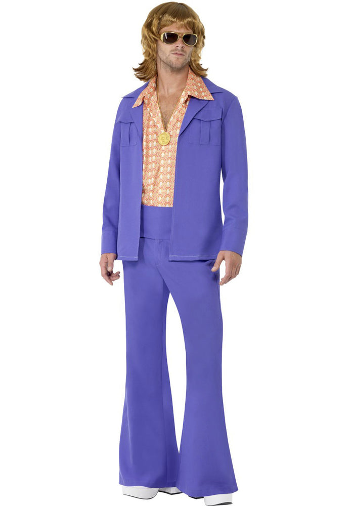 1970s Leisure Suit Costume, 70s Disco Suit