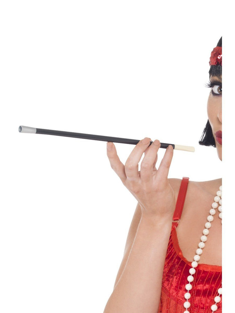 Cigarette Holder Black Plastic