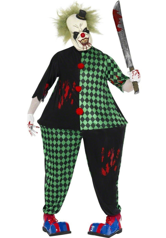 Fat Zombie Clown Costume