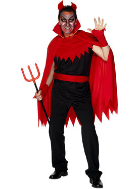 Devil Costume, Halloween Fancy Dress