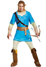 Link Breath Of The Wild Deluxe Costume